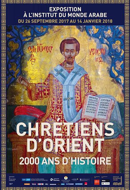 Exposition Chrétiens d'Orient à l'Institut du Monde Arabe à Paris