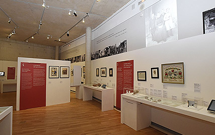 Exposition Amours en Guerre à l'Historial de la Grande Guerre à Péronne