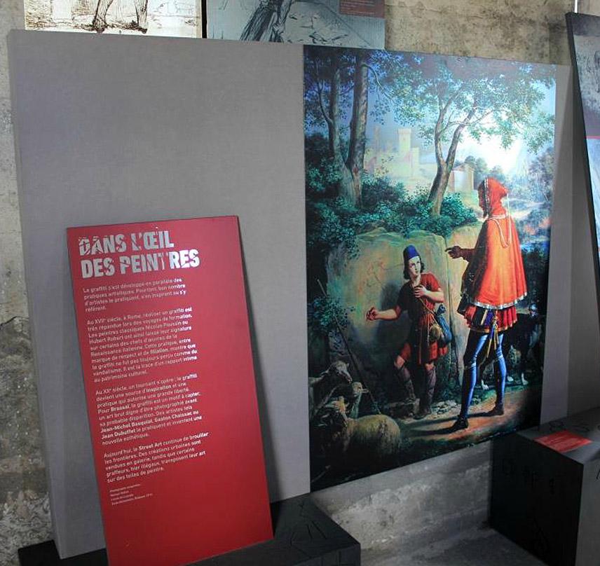 Exposition Histoire(s) De Graffitis au Centre des Monuments Nationaux du Château de Vincennes