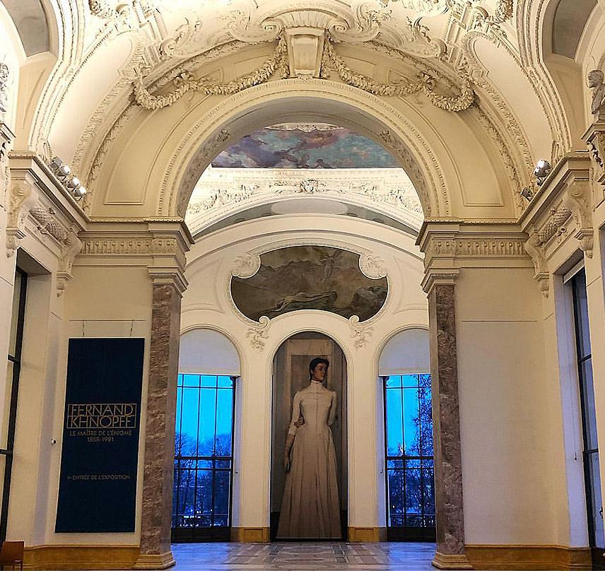 Exposition Fernand Khnopff au Petit Palais à Paris