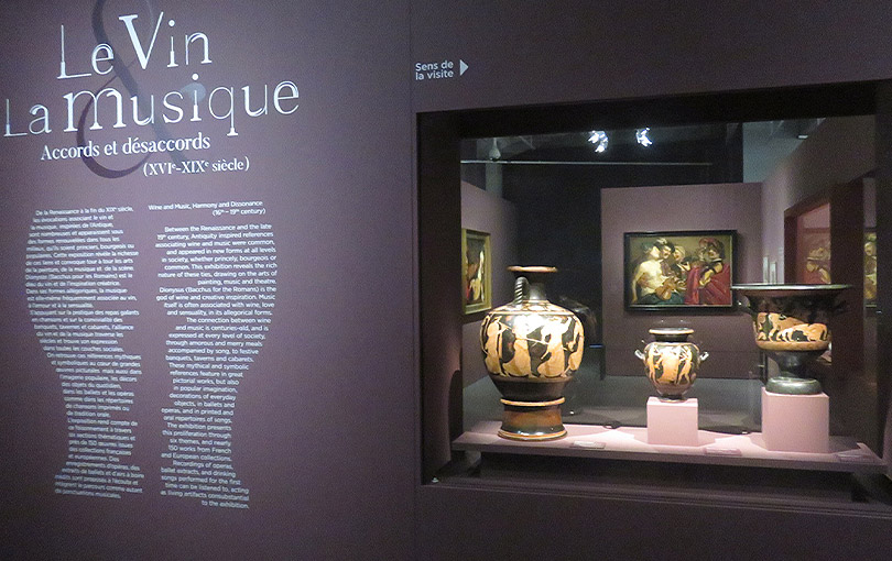 Exposition Le Vin & La Musique à la Cité du Vin à Bordeaux