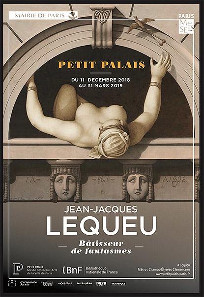 Exposition Jean-Jacques Lequeu au Petit Palais à Paris