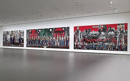 Exposition Gilbert & Georges There Were Two Young Men à la Fondation Vuitton à Paris