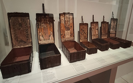 Exposition Mystérieux Coffrets du Musée de Cluny à Paris