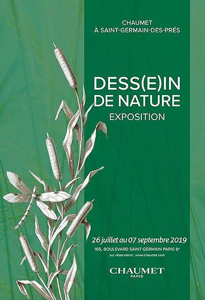 """Exposition """"Dess(e)in de Nature"""" à la Maison Chaumet à Paris"""