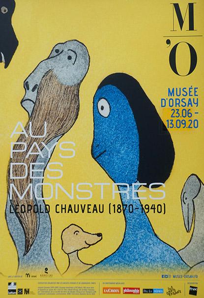 AU PAYS DES MONSTRES. LÉOPOLD CHAUVEAU (1870-1940)
