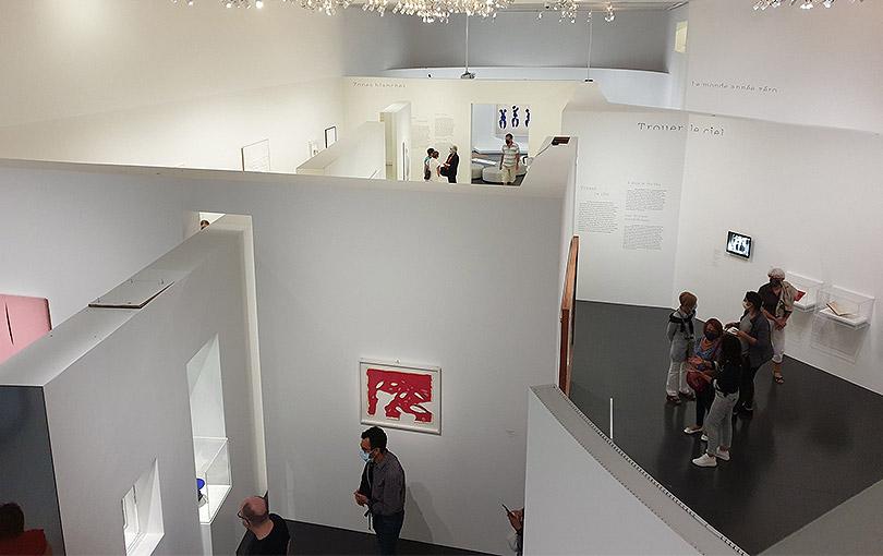 """Exposition """"Le Ciel Comme Atelier - Yves Klein et ses contemporains"""" au Centre Pompidou-Metz"""