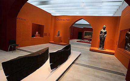 """Exposition """"Soleils Noirs"""" au Musée du Louvre-Lens à Lens"""