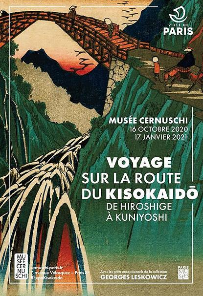 VOYAGE SUR LA ROUTE DU KISOKAIDO – DE HIROSHIGE A KUNIYOSHI