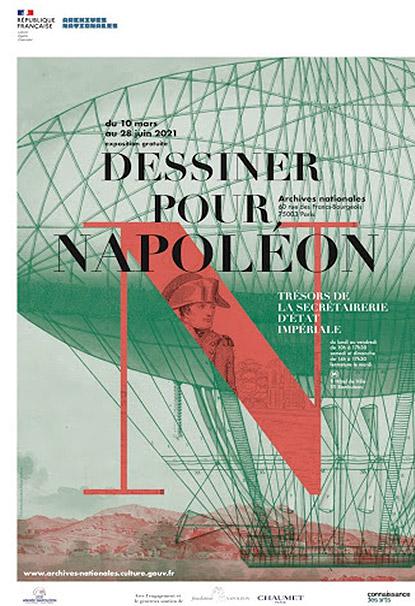 """Exposition """"Dessiner pour Napoléon"""" aux Archives Nationales à Paris"""