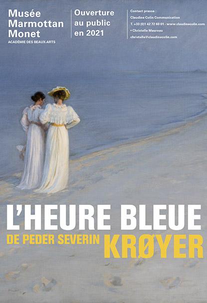 """Exposition """"L'heure bleue de Kroyer"""" au Musée Marmottan-Monet à Paris"""