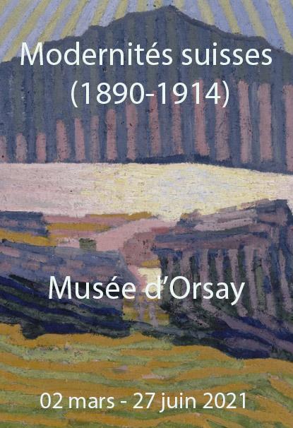 """Exposition """"Modernités Suisses (1890-1914)"""" au Musée D'Orsay à Paris"""