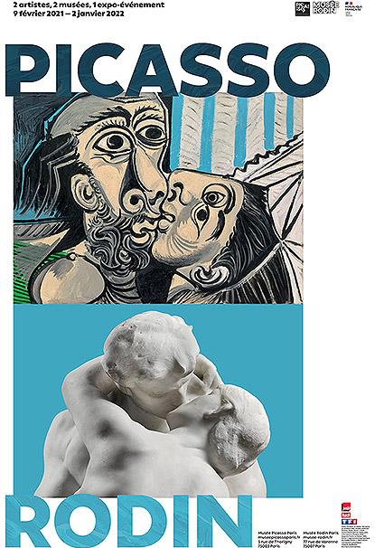 """Exposition """"Picasso - Rodin"""" au Musée Rodin à Paris"""