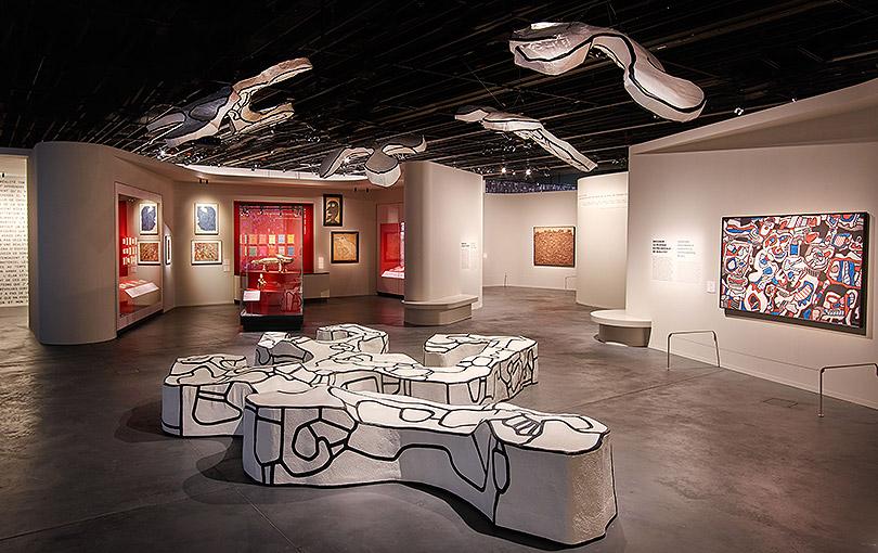 """Exposition """"Jean Dubuffet, un barbare en Europe"""" au Musée d'Ethnologie de Genève"""
