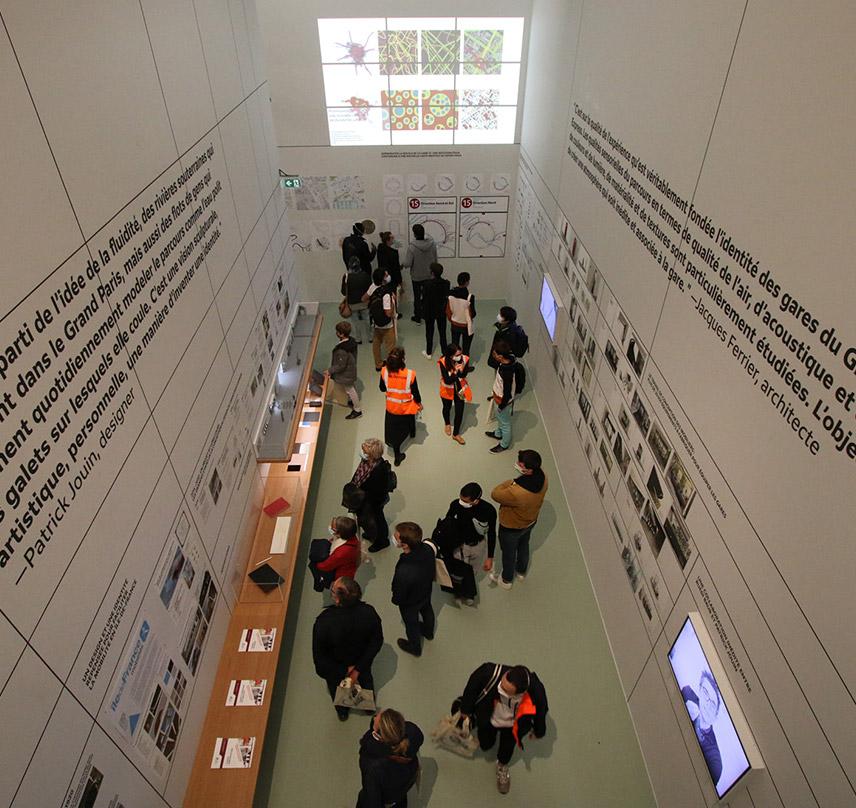 """Exposition """"Les lignes du design"""" à la Fabrique du métro à Paris"""