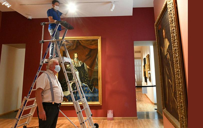 """Exposition """"Portraits de Reines de France"""" au Musée d'art Hyacinthe Rigaud à Perpignan"""