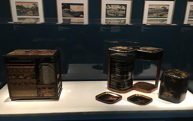 """Exposition """"Voyage sur la route du Kisokaido - De Hiroshige à Kuniyoshi"""" au Musée Cernuschi à Paris"""